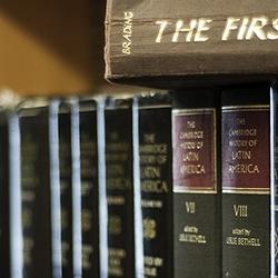 Seeley Historical Library, bookshelf detail