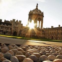 Trinity College Great Court (photo: Matt Bilton)