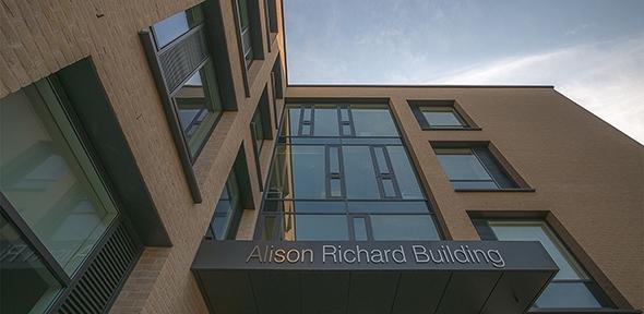Alison Richard Building, front