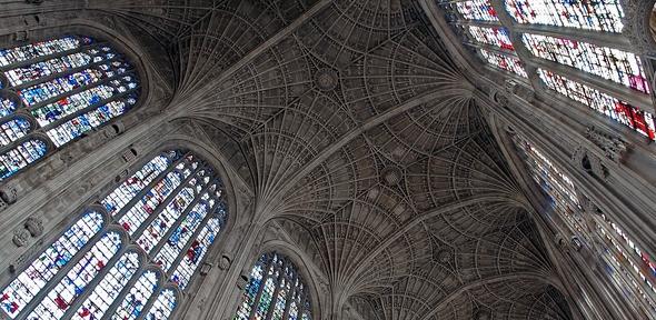 Kings College Chapel Fan Vaulting