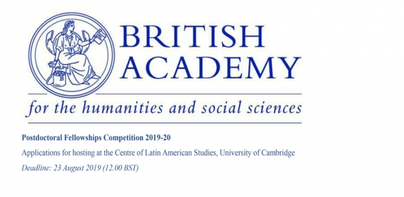 British Academy Postdoctoral Fellowships Competition 2019-20