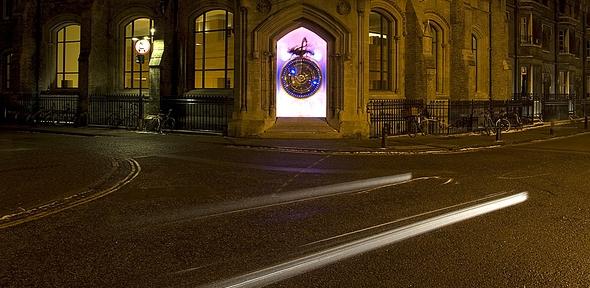 The  Chronophage, Corpus Christi College, Cambridge