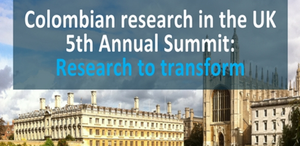 Research to transform: Colombian UK 5th Annual Summit
