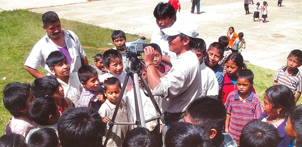 Indigenous Media and Political Resistance in Latin America (Image credit: 'Tejiendo Nuestras Raices', Axhel Koheler (et.al.) RACCACH/IWGIA Mexico, 2010)