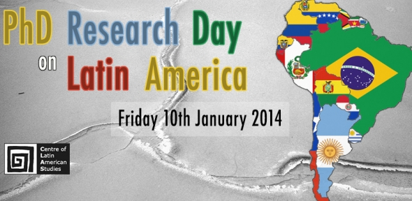 PhD Research Day on Latin America (background images by Rory O'Bryen)