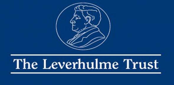 Leverhulme Early Career Fellowships 2020