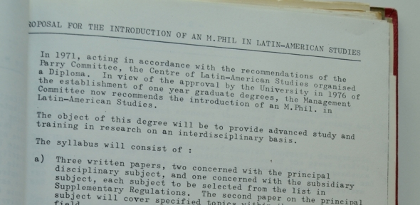 First MPhil proposed regulations