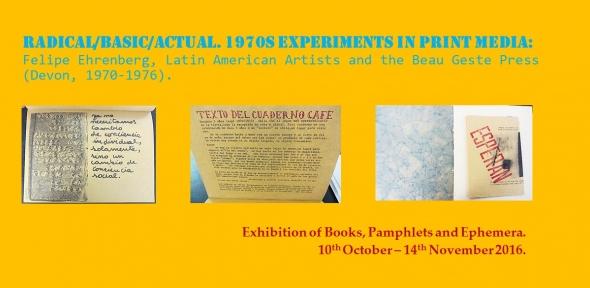 Exhibition of Books, Pamphlets and Ephemera