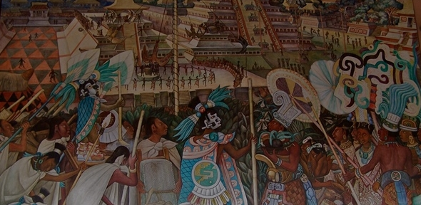 Rivera mural (photo: Joanna Page)